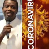 Is Pst. Adeboye's prophecy coming true?- See what he said 7 months ago concerning covid-19 in Nigeria