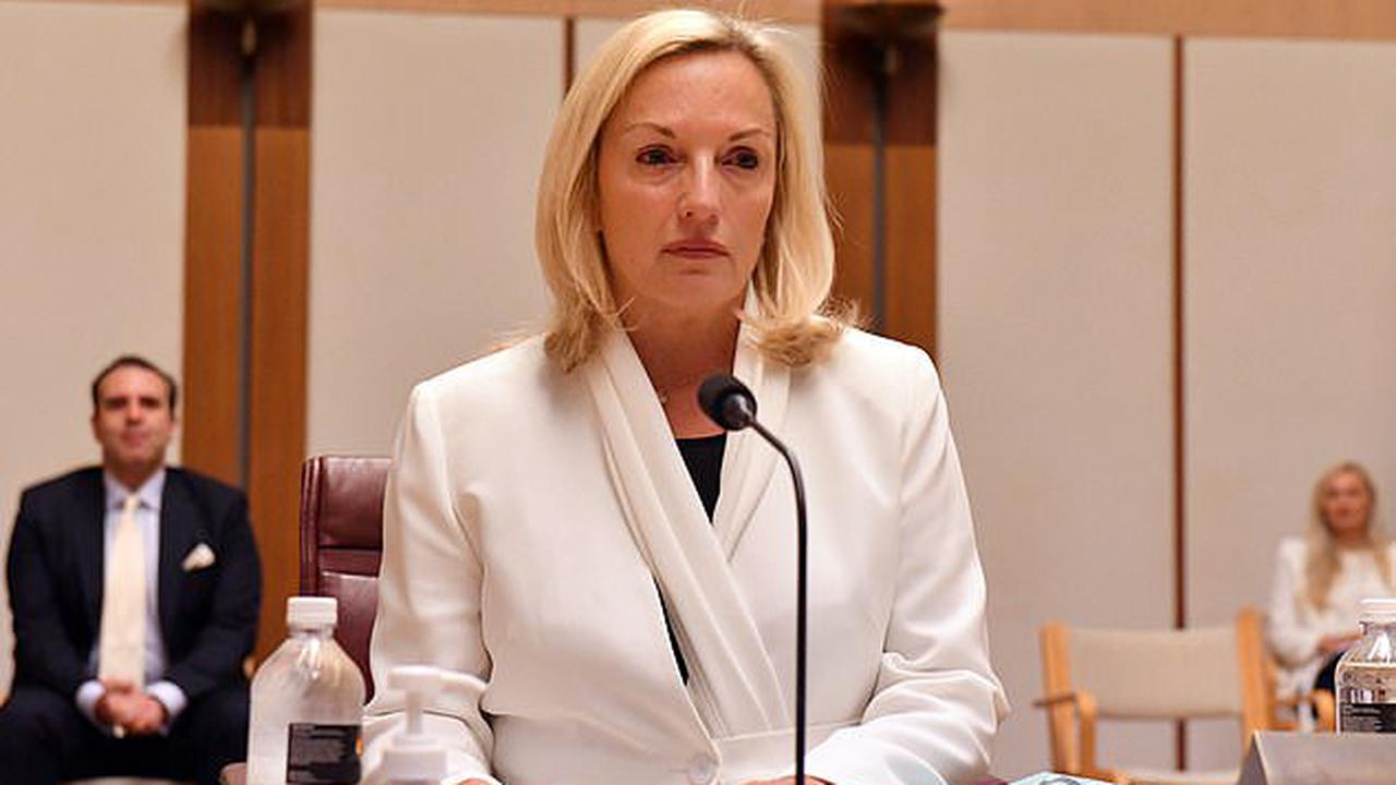 'Any Cartier watches?' Cheeky moment Ally Langdon teases former Australia post boss Christina Holgate as she announces new job - after getting ousted over $20,000 luxury gifts