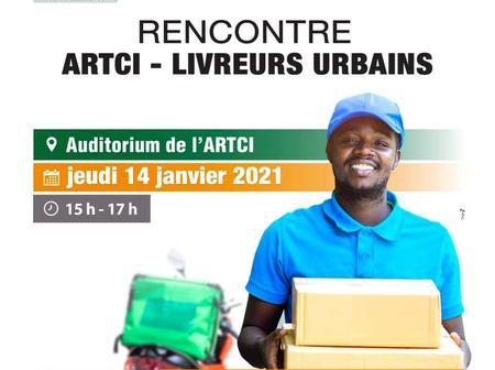 L'ARTCI invite les livreurs urbains ce jeudi 14 janvier pour une rencontre d'explication
