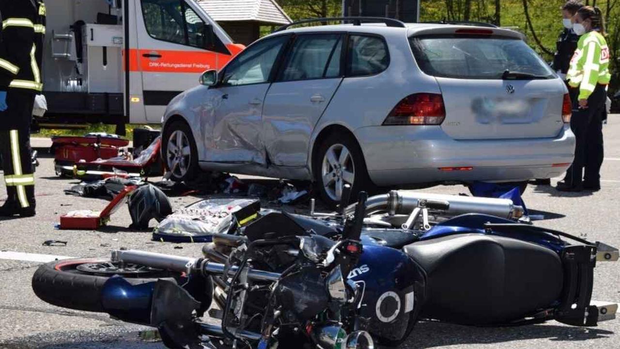 POL-AC: Verkehrsunfall mit schwerverletztem Motorradfahrer