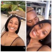 BBNaija: Two Love birds. See what Erica and Kiddwaya were seen doing at a beach - Videos available