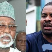 See Deji Adeyanju's Reply After Fmr Nigerian President Said Negotiating With Bandits Is Not The Best