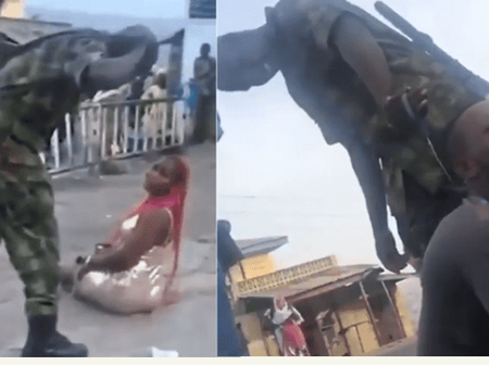 What Befell  The Soldier Who Flogged Woman In Ibadan Over Dressing