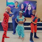 Mercy Johnson Having Fun With Her Children In Their Favourite Superheroes Costumes In A New Video