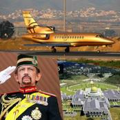 Meet The Man Who Lives In A Gold Palace, Has 7000 Cars And Owns The Only Gold Plane In The World
