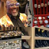 Rich Senator: Photos of Dino Melaye's expensive Watches, Cufflinks and Shoes