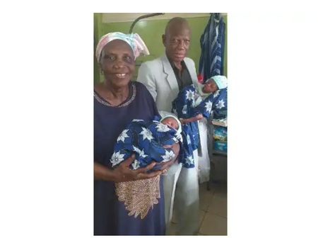 How a Nigerian woman aged 68 gave birth to twins after four IVF attempts