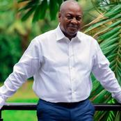 Ghanaians React Massively After Mahama Revealed This Good News On Social Media And Caused Stir