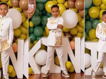 Birthday: Tonto Dikeh celebrates son King amid ex-husband's revelation of being married to former PA