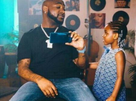 Davido Reveals What Her Daughter, Imade Adeleke Asked Him And His Reply To Her Question
