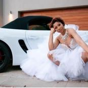 It's Matching Porsche And The Dress For Us. #33 Years Of Queen Enhle.