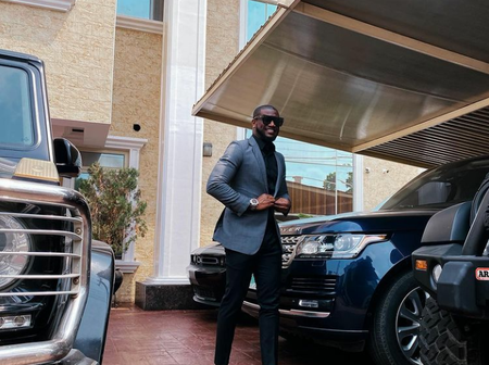 Check out photos of Mr P's 6 expensive cars, which includes a Rolls Royce