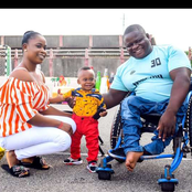 Meet The Wife And Son Of The Physically-Challenged Nigerian Man That Makes Shoes