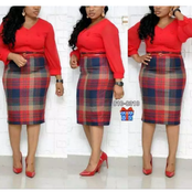 """""""December Is Near""""-See Stylish And Affordable Cooperate Gown For Your Christmas And New Year"""