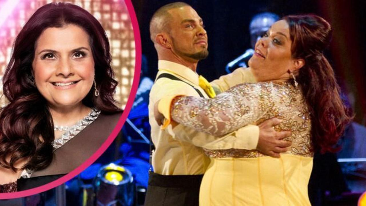 Strictly's Nina Wadia 'drops two dress sizes' due to gruelling training and other big weight losses over the years