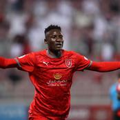 Best Striker in Africa! Olunga's Fans Reacts After His Post On Facebook