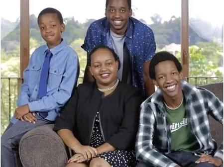 What Anne Waiguru Eldest Son Does For Living