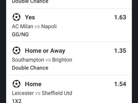 Today's Upcoming Fixtures, Analysis And Predictions That Will Fetch You Csh