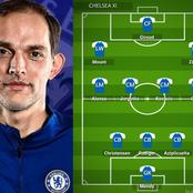 Chelsea's Strongest 3:4:3 Lineup To Defeat Liverpool With Giroud & Havertz Leading The Attack