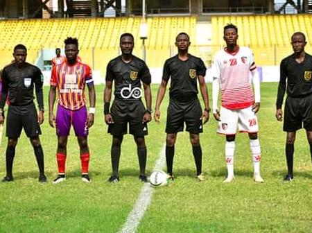Here's the Matchday 18 officials as the second round of the GPL starts this weekend