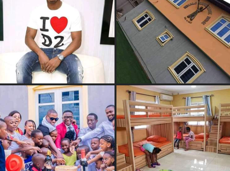 May God Bless Ighalo, Check Out Multi-Million Orphanage Home He Just Launched