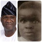 See this photo of His Excellency, Babatunde Raji Fashola in 1966 (Fashola at 3-years-old)