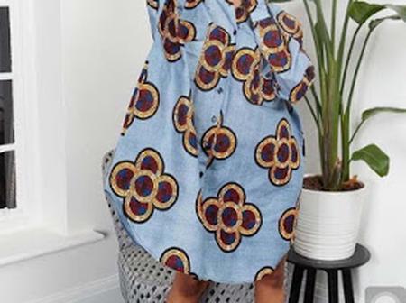 20+ Trendy And Classy Ankara Casual Dresses 2021