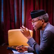 Vice-President Yemi Osibanjo Discloses Government Plan to Save Nigeria from Economic Recession