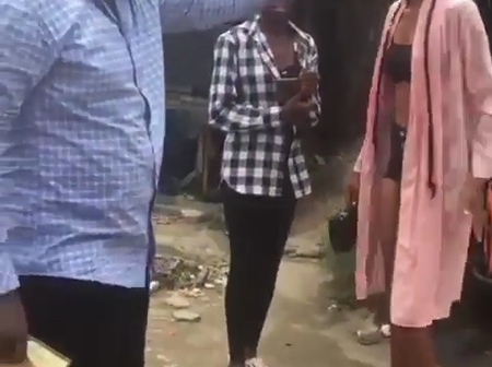 Pastor Publicly Embarrasses Lady Her Because Of Her Dressing