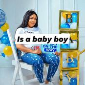 Lady Finally Gives Birth To A Boy After 8years In Marriage [Photos]