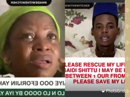 Forgive My Son And Help Him Stay ALive–Yahaya Gambari's Mother Pleads (VIDEO)