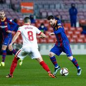 Lionel Messi inspires Barcelona FC to a remarkable 3-0 comeback victory over Sevilla in Copa del Rey