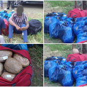 The South African Defence Forces bust a major drug smuggling syndicate at the border.
