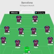 Quique Setien's potential formation against Bayern revealed