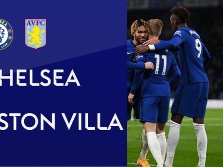 Chelsea Full Squad Revealed For Premier League Clash Vs Aston Villa At Stamford Bridge