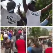Agboville / Les populations dans les rues pour Fleur Aké :