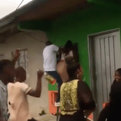 The Young Couple Fall To Their Death While Dancing. See Video
