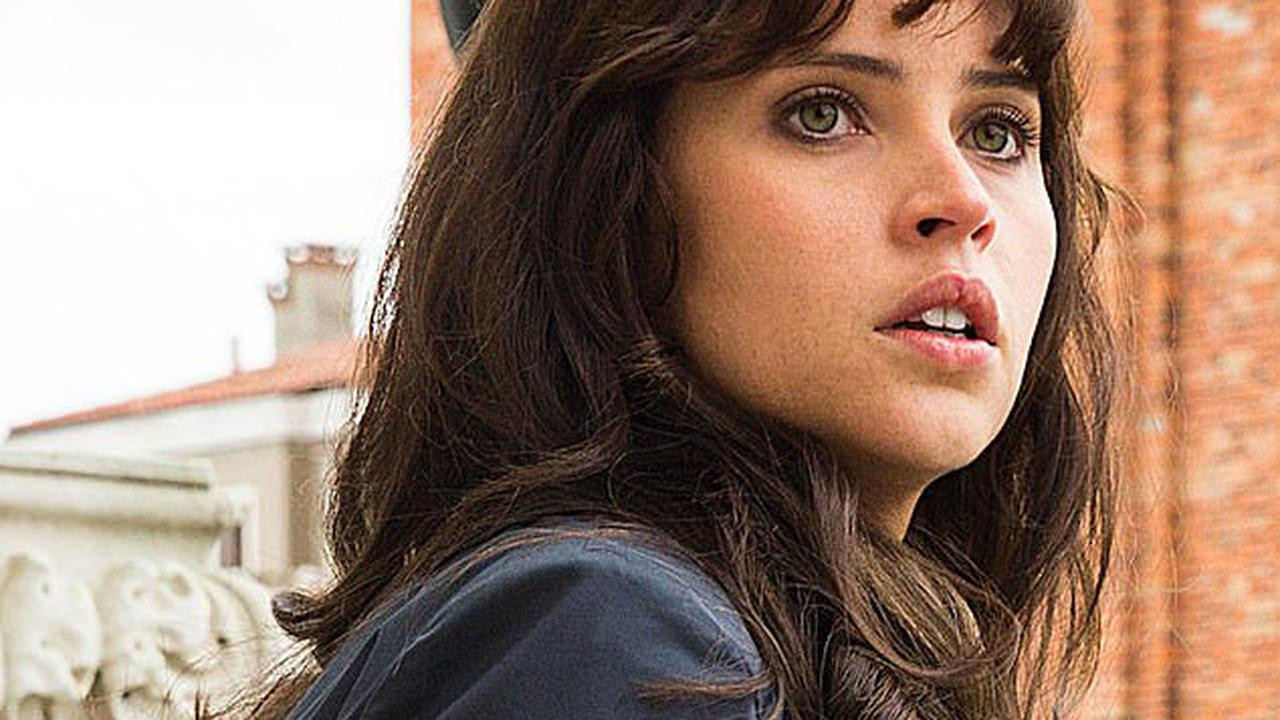 Felicity Jones admits it was 'scary' to have a baby during lockdown while 'feeling like your life is threatened' amid the Covid-19 pandemic