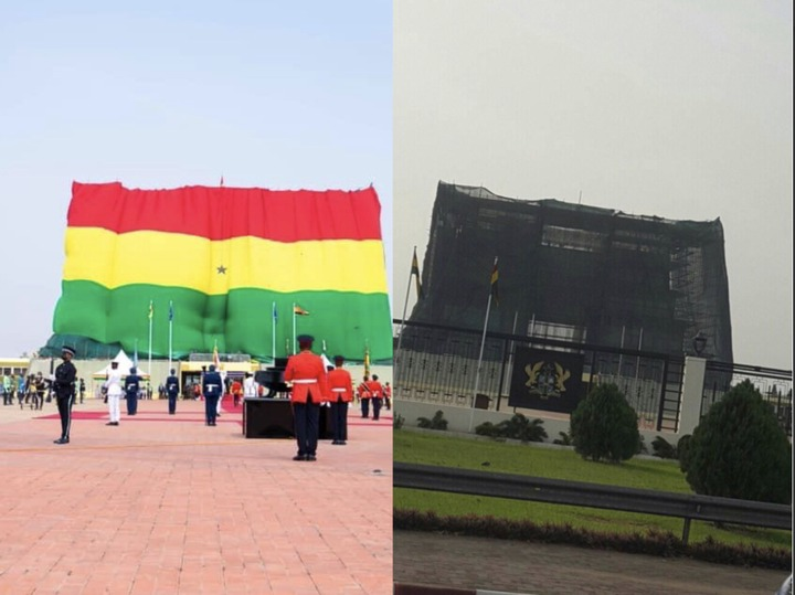 a500052d78184ad8ad28c47b87262264?quality=uhq&resize=720 - Independence Day: Ghanaians Did Not Understand The Black Net Around The Jubilee House; Until Today