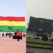 Independence Day: Ghanaians Did Not Understand The Black Net Around The Jubilee House; Until Today