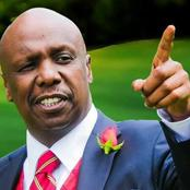 Gideon Moi Celebrates After ANC and Ford Kenya Wins Kabuchai and Matungu By-elections