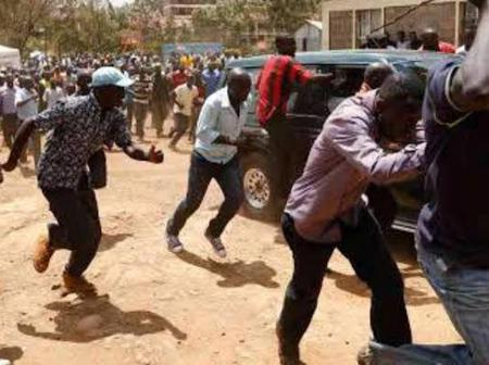 Drama: 4 Govt CSs Forced to Cut Short Their Speech After Angry Citizens Allegedly Disrupt BBI Rally