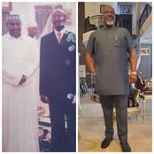 Checkout Throwback and Recent lovely photos of Dino Melaye and Buba Marwa.