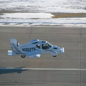 World's First Flying Car That Can Travel At 100mph