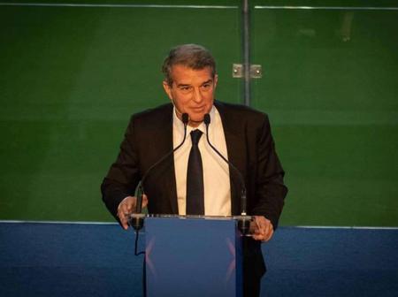 Joan Laporta on Messi at his inauguration