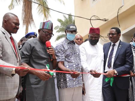 Gov Ortom Commissions PHC Office Complex, Says Health of Benue People remains top Priority