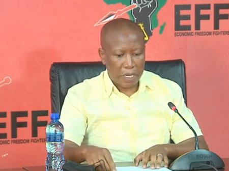 Julius Malema Want SANDF To Intervene The Mozambique Matter