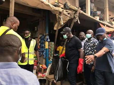 Governor Godwin Obaseki Leads by example, Cleans up Edo State Ahead of his Inauguration