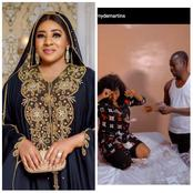 After Mide Martins' Husband Surprised Her On Her Birthday, See What Her Friend Did For Her Too