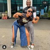 Could They Be Close Friends? See 10 Photos Of Nancy Isime And Bovi Posing Together For The Camera